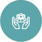 Community-minded logo